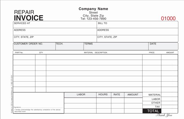 Hvac Service order Invoice Template New Air Conditioning Repair Invoice Template 12 Advice that