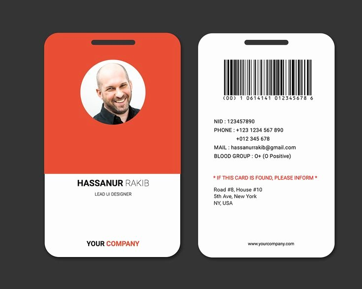 Id Badge Template Photoshop Best Of 47 Best Images About Id Badge On Pinterest