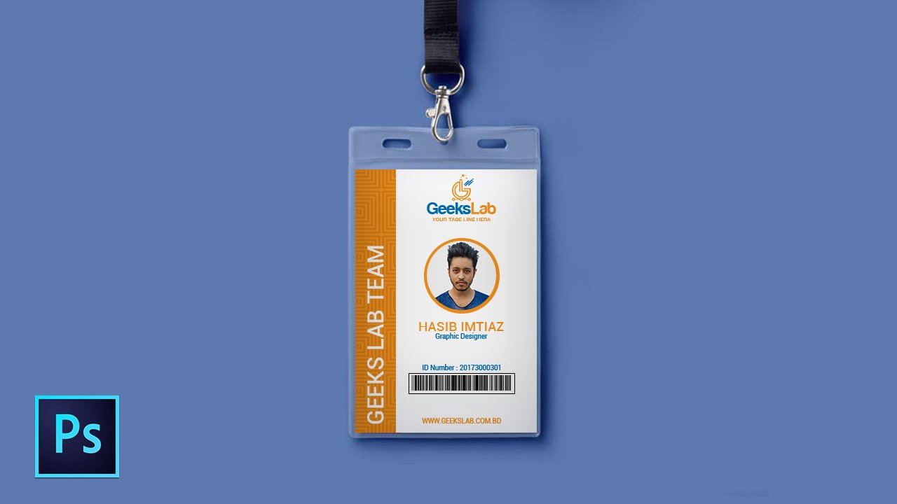 Id Badge Template Photoshop Fresh How to Design Own Id Card In Shop