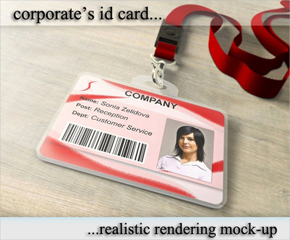 Id Badge Template Photoshop Inspirational Free 35 Amazing Id Card Templates In Illustrator