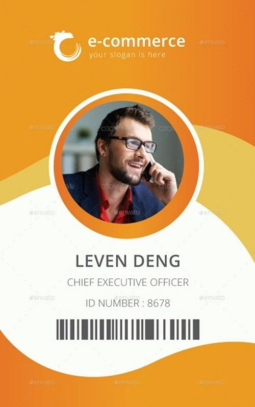 Id Badge Template Photoshop Unique 25 Best Id Card Mockup Templates – Psd Eps Ai Download