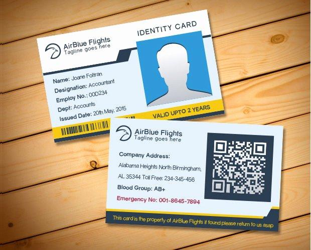 Id Card Template Photoshop Elegant 30 Id Card Psd Templates