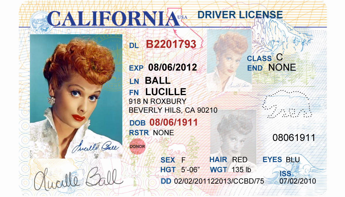Id Card Template Photoshop Inspirational California Driver S License Editable Psd Template Download