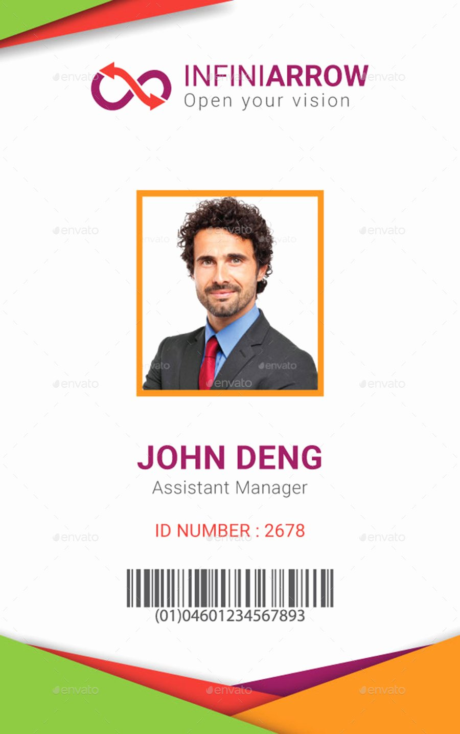 Id Card Template Photoshop Lovely Multipurpose Business Id Card Template by Dotnpix