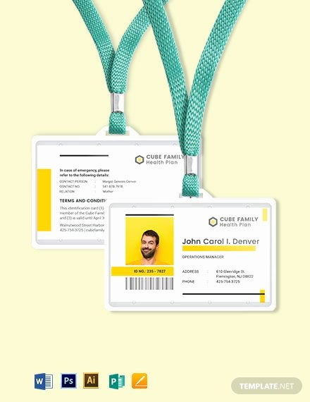 Id Card Templates Photoshop Elegant 381 Free Id Card Templates In Adobe Shop [psd