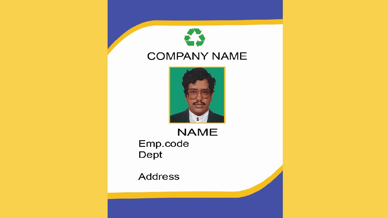 Id Card Templates Photoshop Lovely How to Create An Id Card In Shop with Esubs