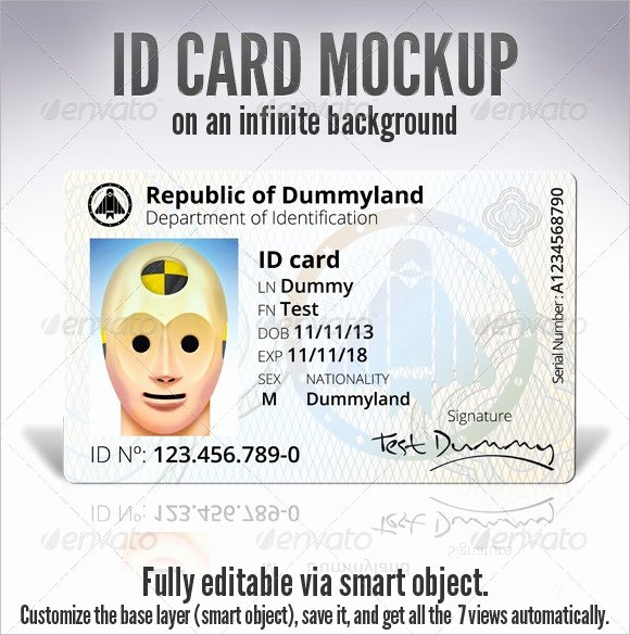 Id Card Templates Photoshop Unique Id Card Template 19 Download In Psd Pdf Word
