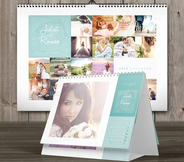 19 nice calendar 2016 indesign templates
