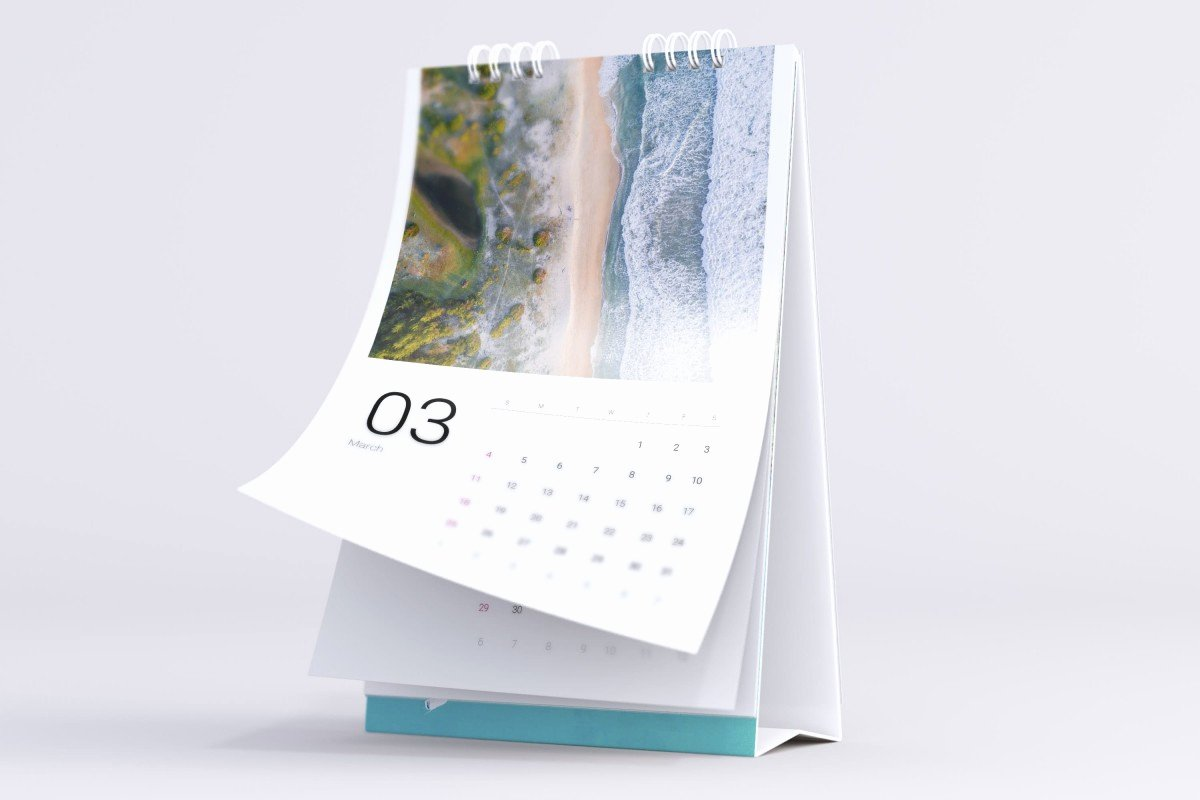In Design Calendar Templates Inspirational Sea Water Free Calendar Template for Indesign • Pagephilia