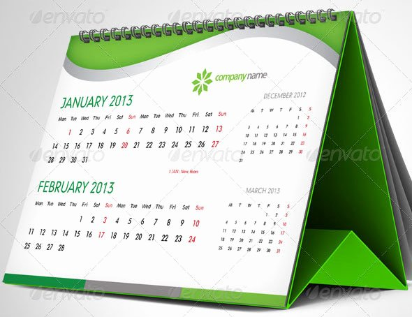 In Design Calendar Templates New 37 Beautiful Indesign Calendar Templates – Design Freebies