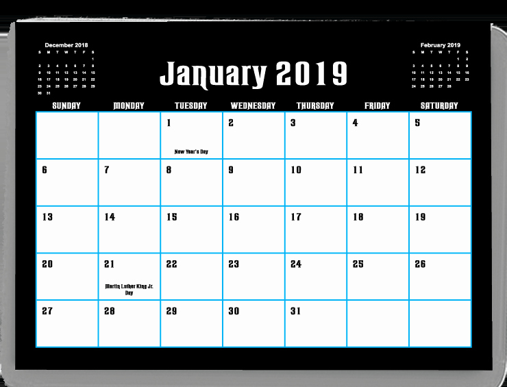 In Design Calendar Templates New Calendar Templates