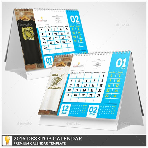 In Design Calendar Templates Unique 19 Nice Calendar 2016 Indesign Templates – Design Freebies