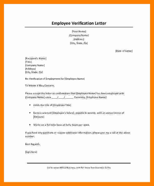 Income Verification Letter Template Lovely 8 Salary Confirmation Letter Request