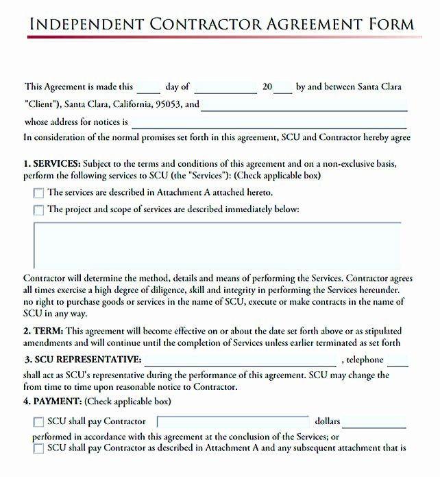 Independent Contractor Agreement Template Free Fresh 11 Subcontractor Agreement Template for Successful