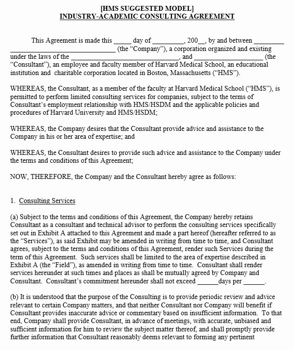 Independent Contractor Agreement Template Free Luxury 10 Free Independent Contractor Agreement Templates