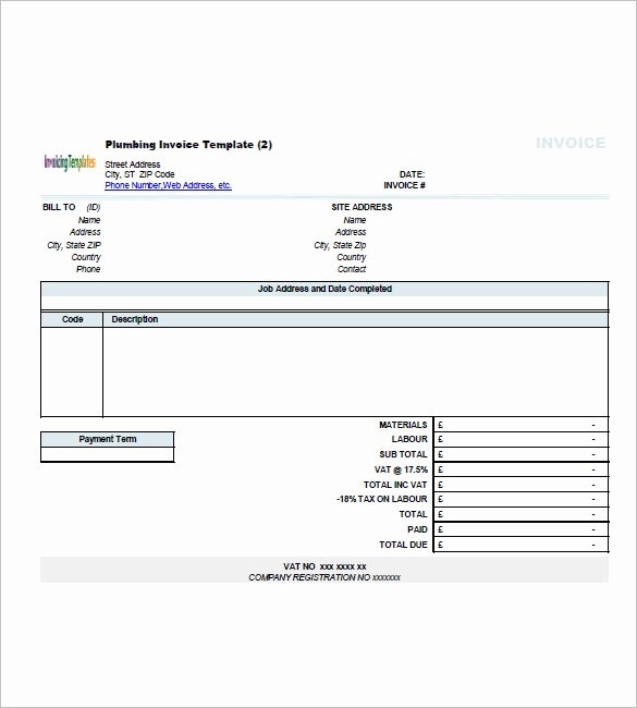 Independent Contractor Invoice Template Best Of Independent Contractor Invoice Template