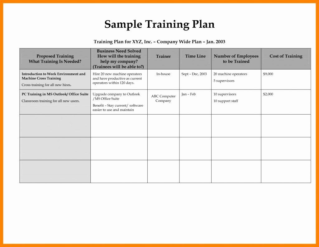 Individual Employee Training Plan Template Best Of 008 Individual Development Elegant Career Progression Plan