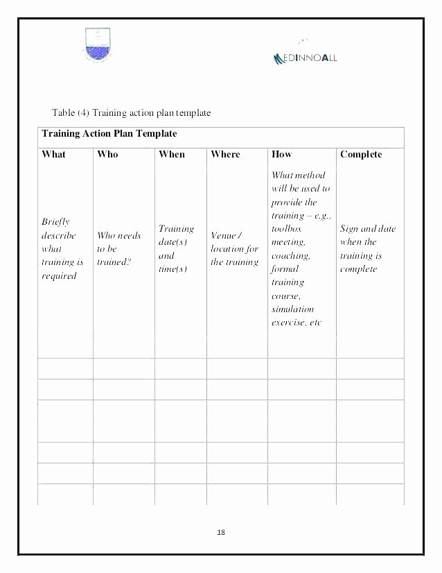 Individual Employee Training Plan Template Inspirational Individual Development Plan Template for Managers – Pepino