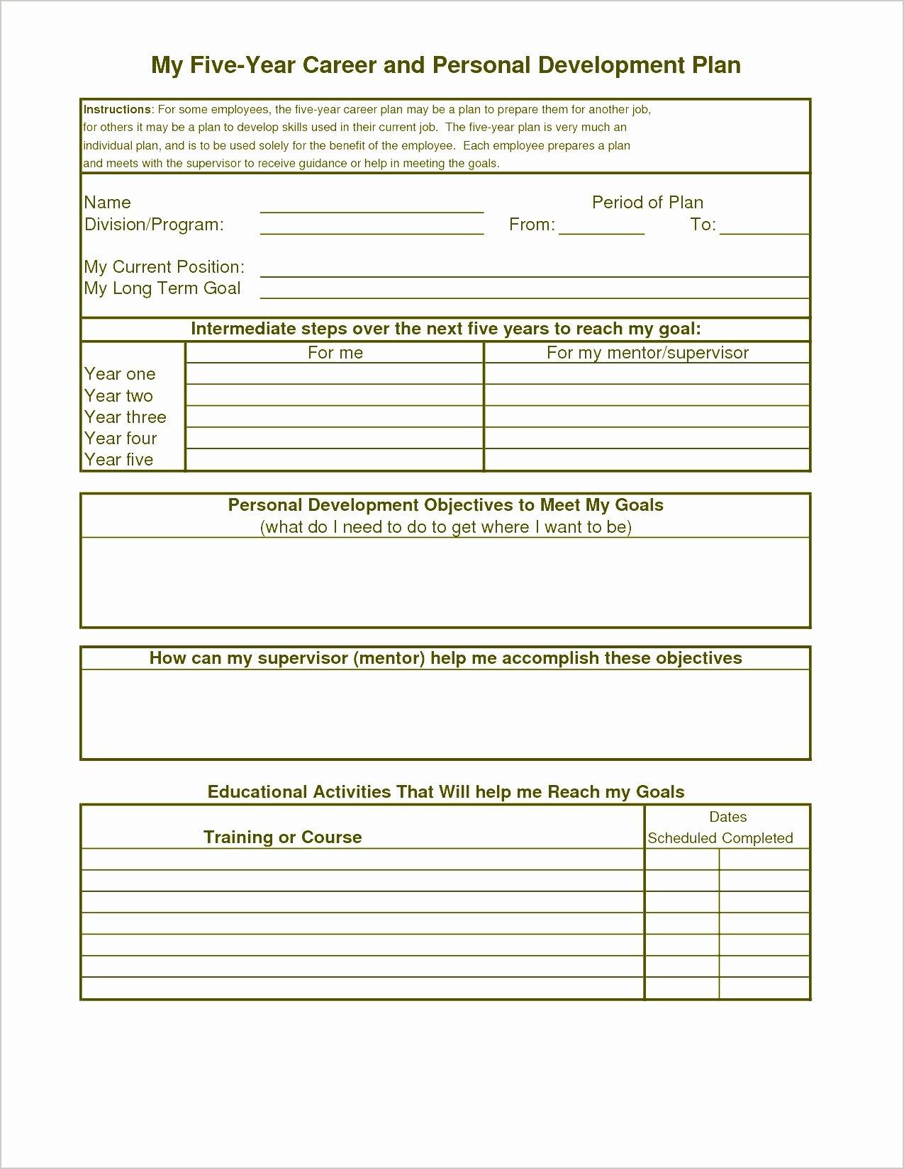Individual Employee Training Plan Template Unique 10 Training Plan format for Employees Sampletemplatez