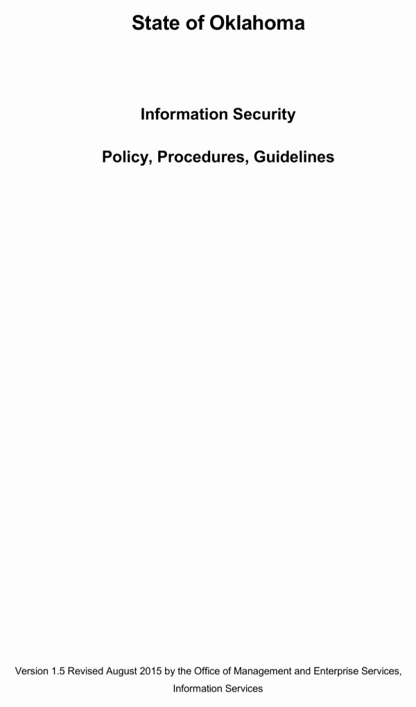 Information Security Policies Templates Fresh Download Information Security Policy Procedures