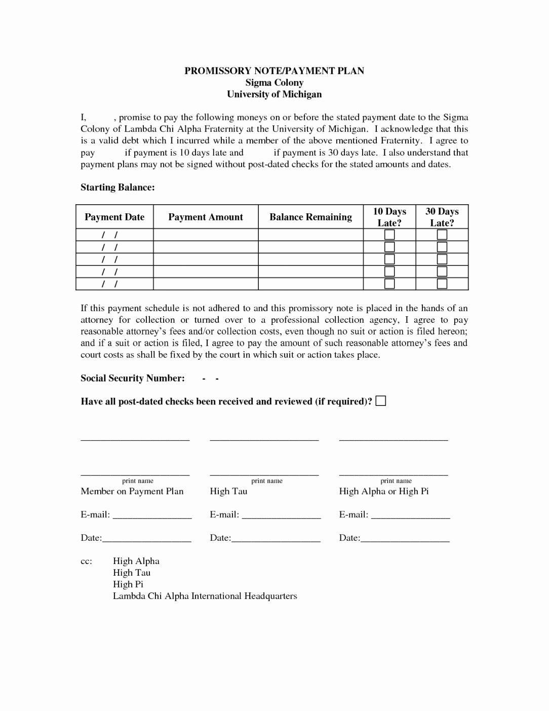 Installment Payment Contract Template Best Of Payment Plan Letter Barcafontanacountryinn Installment