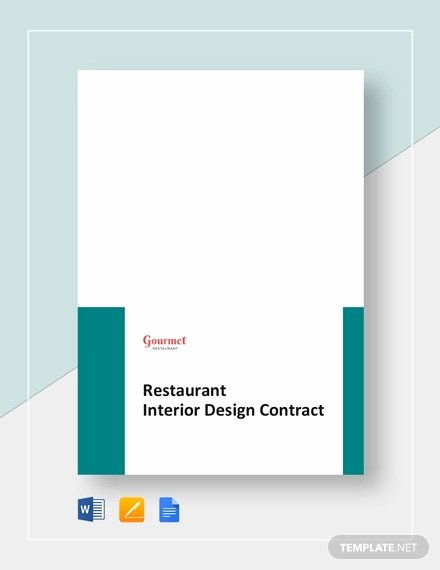 Interior Design Contract Template Best Of 7 Interior Designer Contract Templates Word Pages Pdf