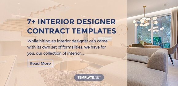 Interior Design Contract Template Lovely 7 Interior Designer Contract Templates Word Pages Pdf