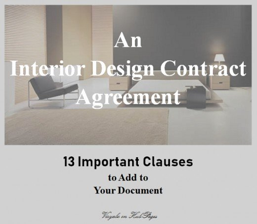 Interior Design Contracts Templates Luxury 13 Important Clauses to Add to Interior Design Contract