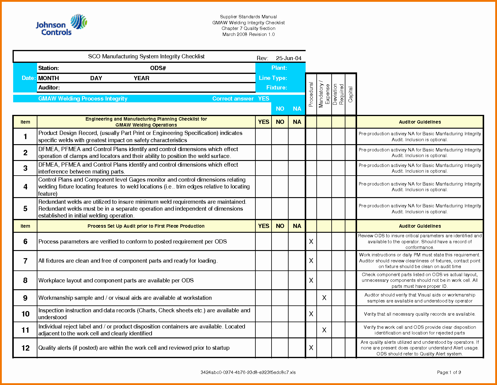 Internal Audit Checklist Template Luxury 35 Excellent Audit Report form Template Examples Thogati
