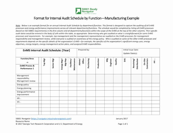 Internal Audit Programme Template Unique Free 11 Audit Schedule Samples and Templates In Pdf