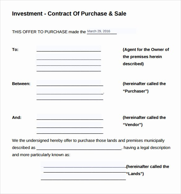 Investment Agreement Template Doc Best Of Simple Website Contract Pdf Free software and Ware