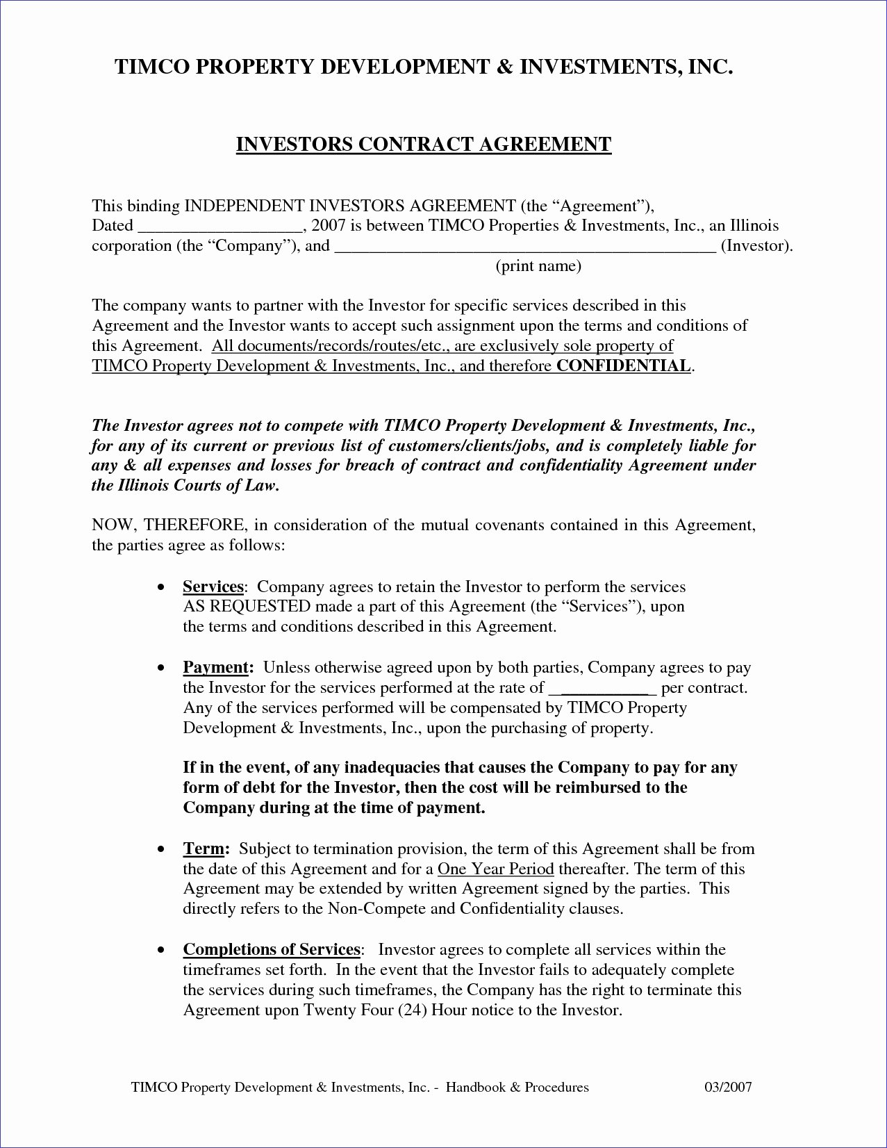 Investment Agreement Template Doc Luxury Investment Agreement Template Doc Clean 3 Investment