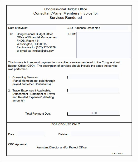 Invoice Template for Consulting Services Inspirational 10 Consulting Invoice Samples Word Pdf