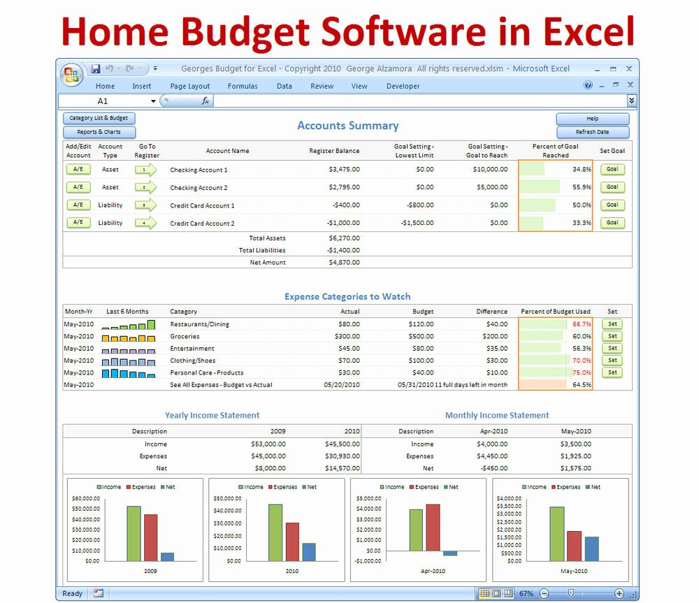 It Budget Template Excel New Personal Bud Ing software Excel Bud Spreadsheet