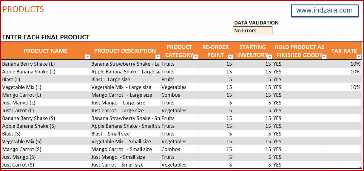 It Inventory Excel Template Beautiful Upgrades to Manufacturing Inventory and Sales Manager