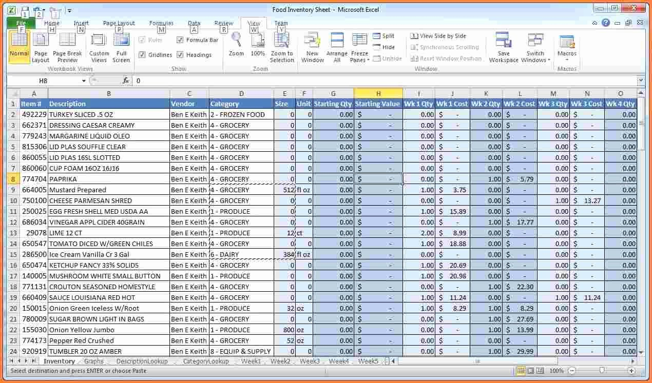 It Inventory Excel Template Best Of 10 Inventory Spreadsheet Examples