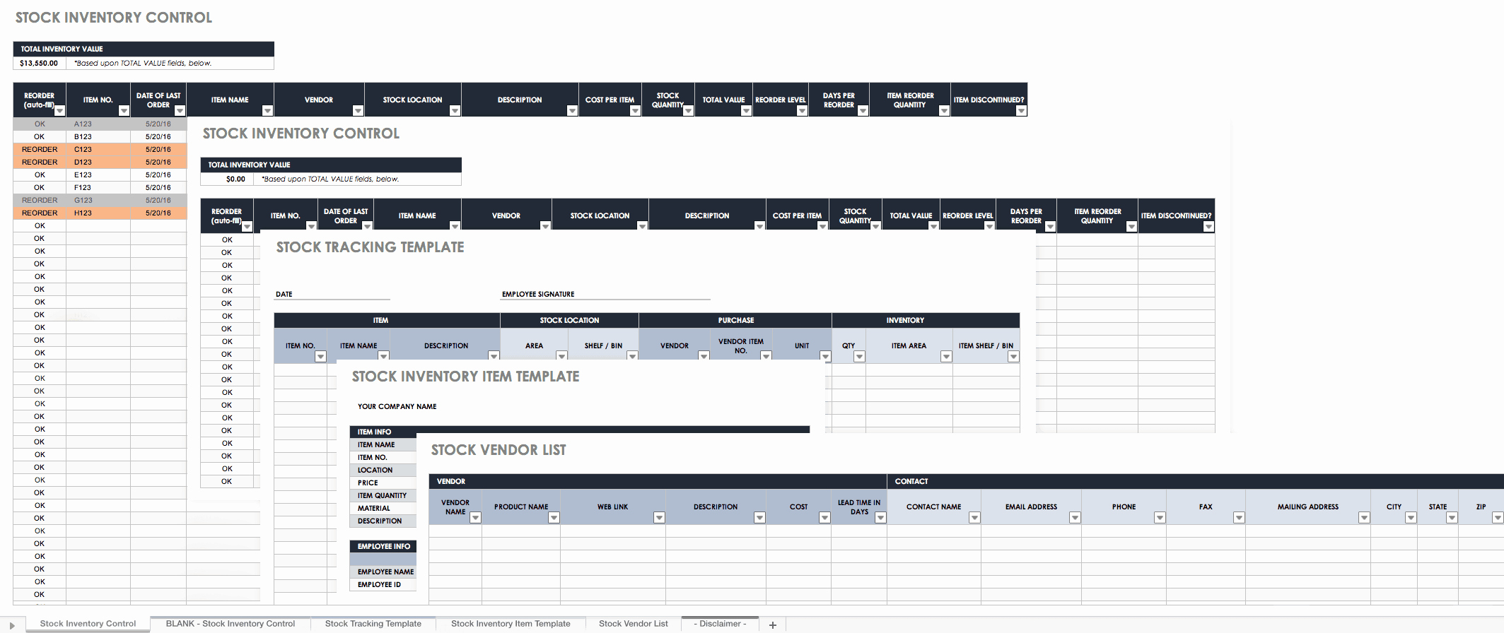 It Inventory Excel Template Best Of Free Excel Inventory Templates Create & Manage