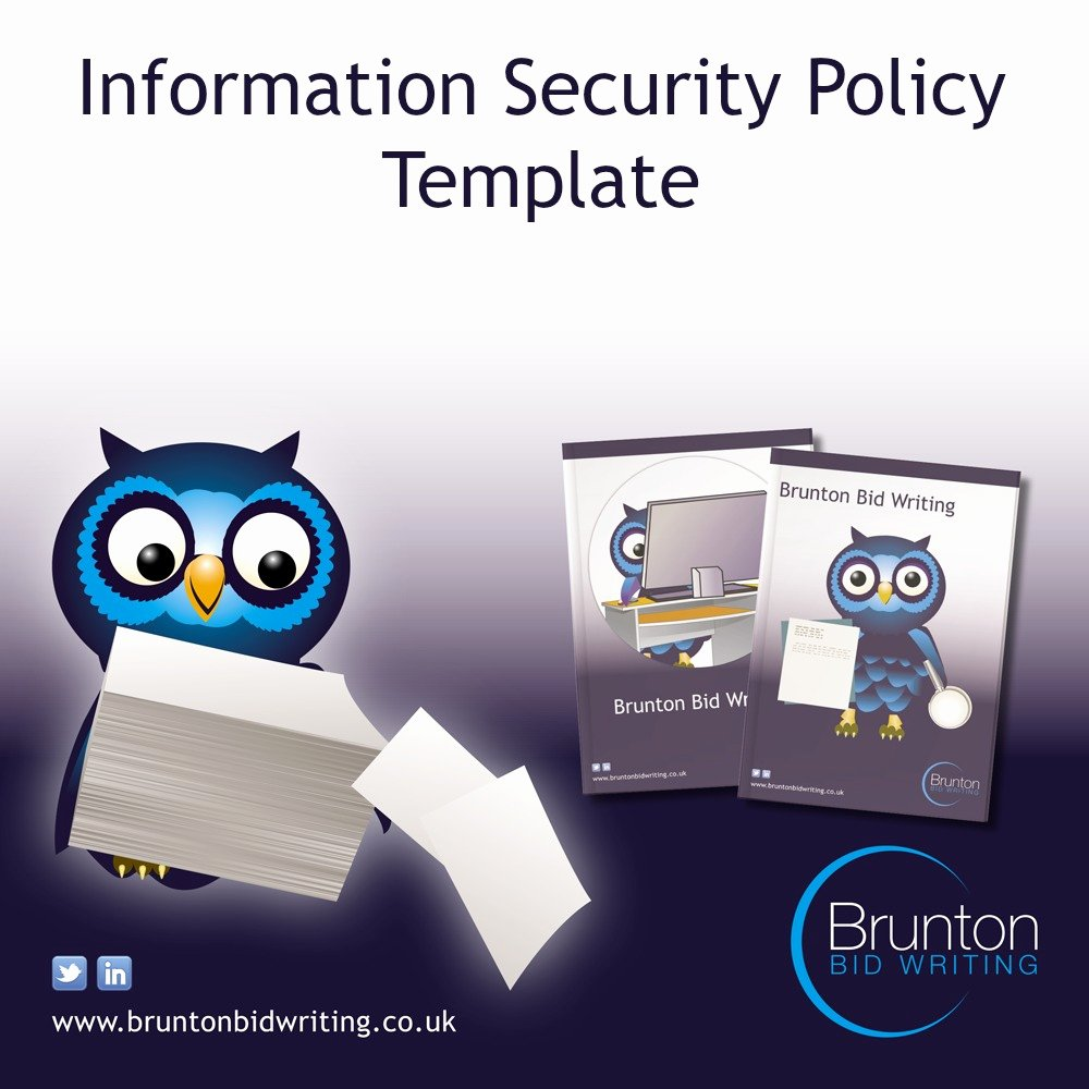 It Security Policy Template Luxury Information Security Policy Template for Recruitment