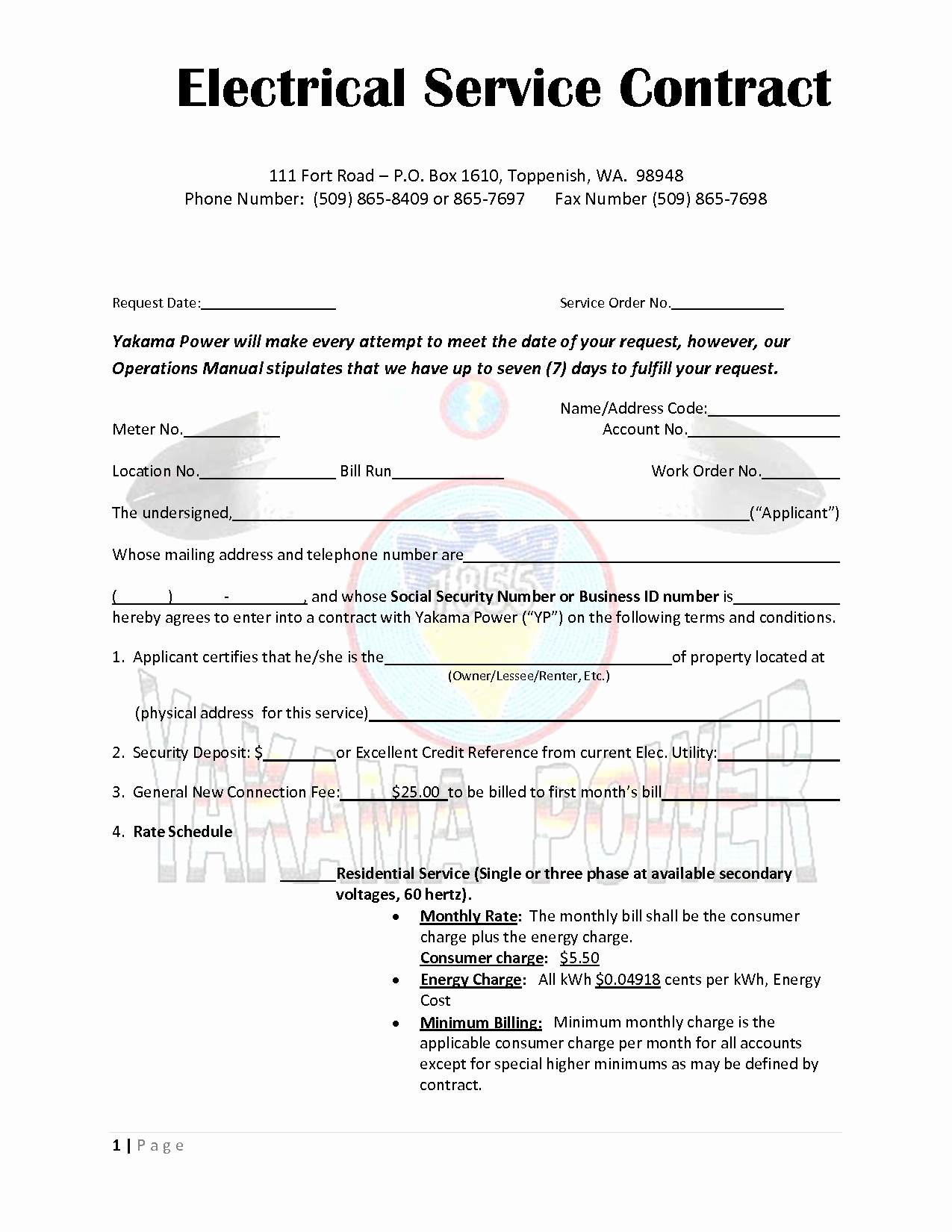 It Support Contract Template Lovely Service Contract Template