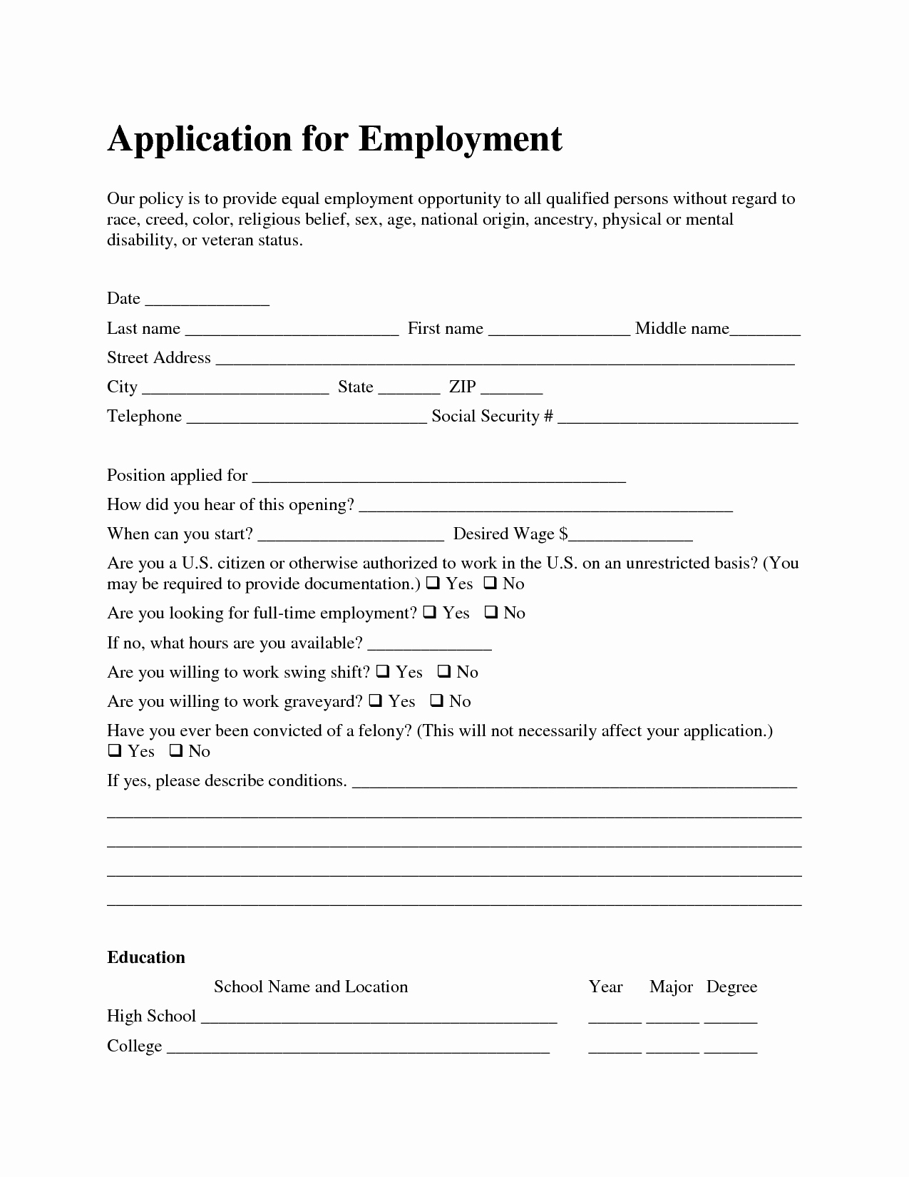 Job Application Template Microsoft Word New Template Job Application Azhrzltq