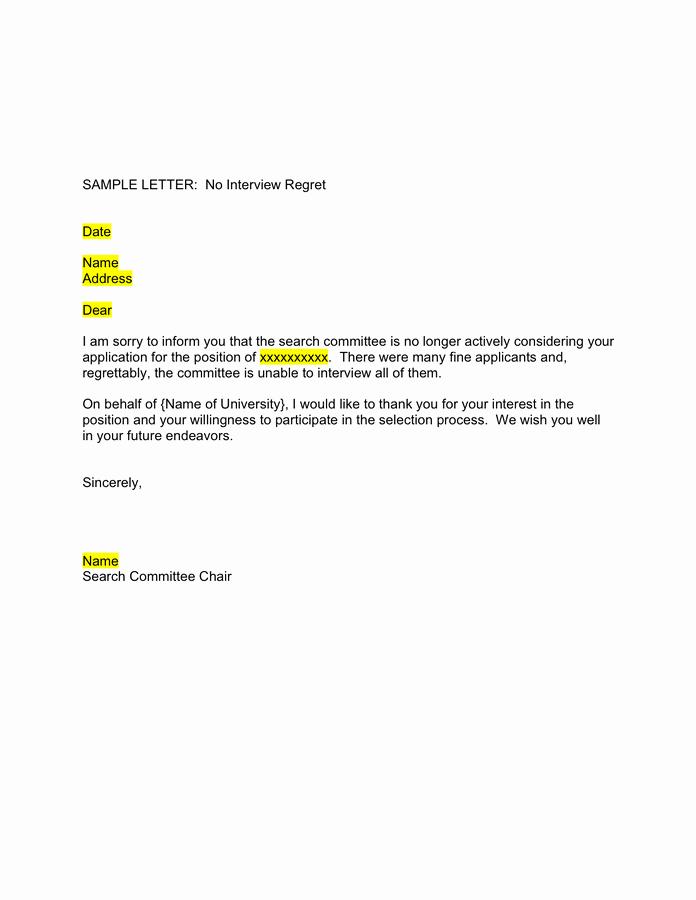 Job Offer Template Word Elegant Job Fer Letter Sample Free Documents for Pdf