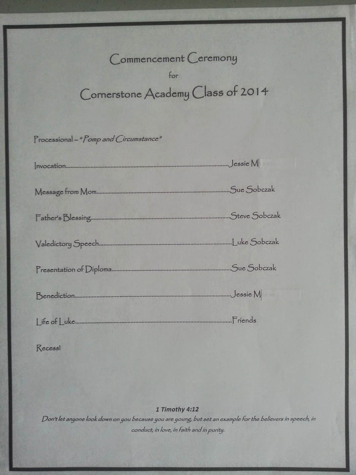 Kindergarten Graduation Program Templates Beautiful Journeying Sue Homeschool Graduation Program Template