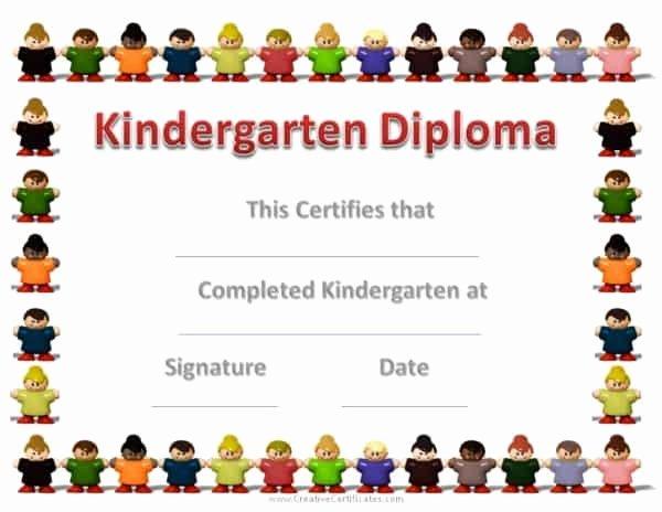 Kindergarten Graduation Program Templates Best Of Free Custom Kindergarten Graduation Certificates