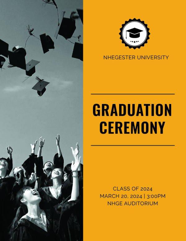 Kindergarten Graduation Program Templates Inspirational 7 Graduation Program Templates Pdf Word