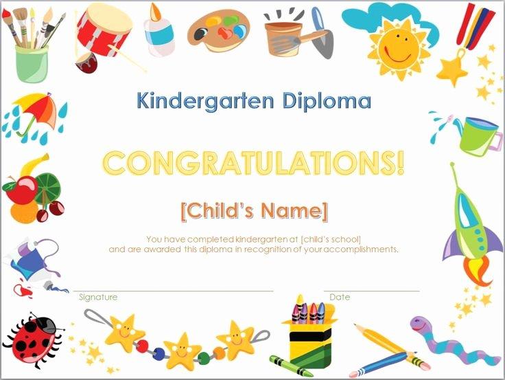 Kindergarten Graduation Program Templates Inspirational Screenshot Of the Kindergarten Diploma Template