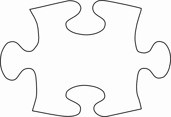 Large Puzzle Piece Template Awesome Free Puzzle Pieces Template Download Free Clip Art Free