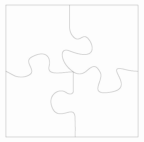 Large Puzzle Piece Template Elegant Best S Of Puzzle Piece Template Printable