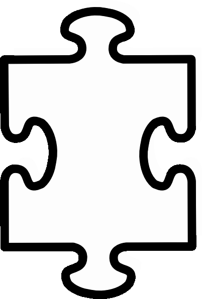 Large Puzzle Piece Template Elegant Printable Puzzle Pieces Template Clipart Best Clipart