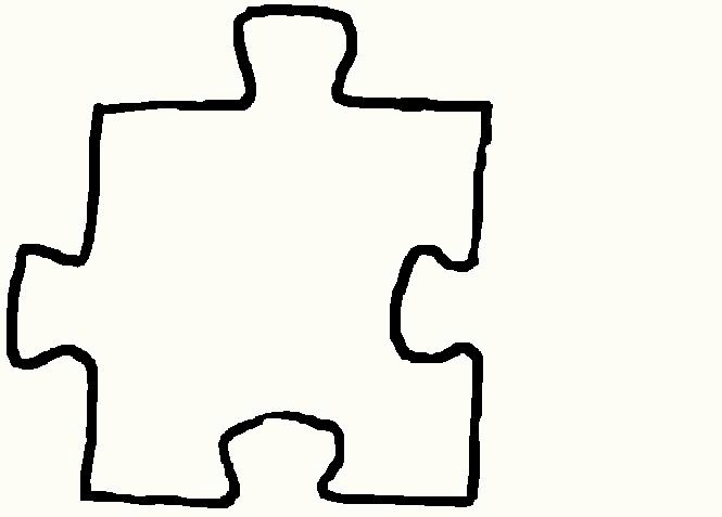 Large Puzzle Piece Template Lovely Free Puzzle Piece Template Download Free Clip Art