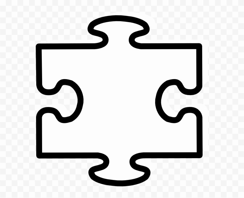 Large Puzzle Piece Template Lovely T444z Hair Products Side Effects Ourclipart